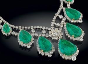 Emeralds with Diamonds