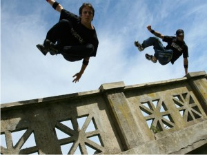 Parkour - Art movement