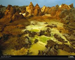 Volcano in Dallol