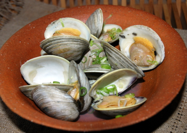 Japanese Style Clams