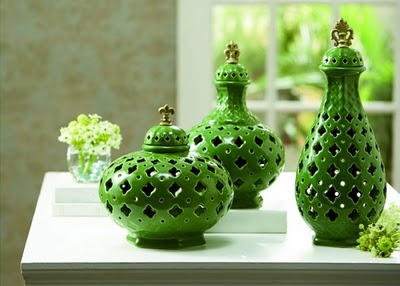 parrot green jars