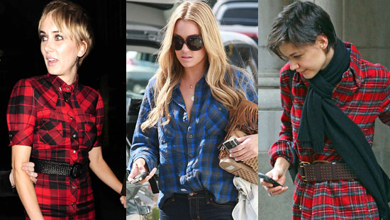 Tartan Shirts - worn by both men and women