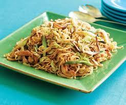 Shitake noodles
