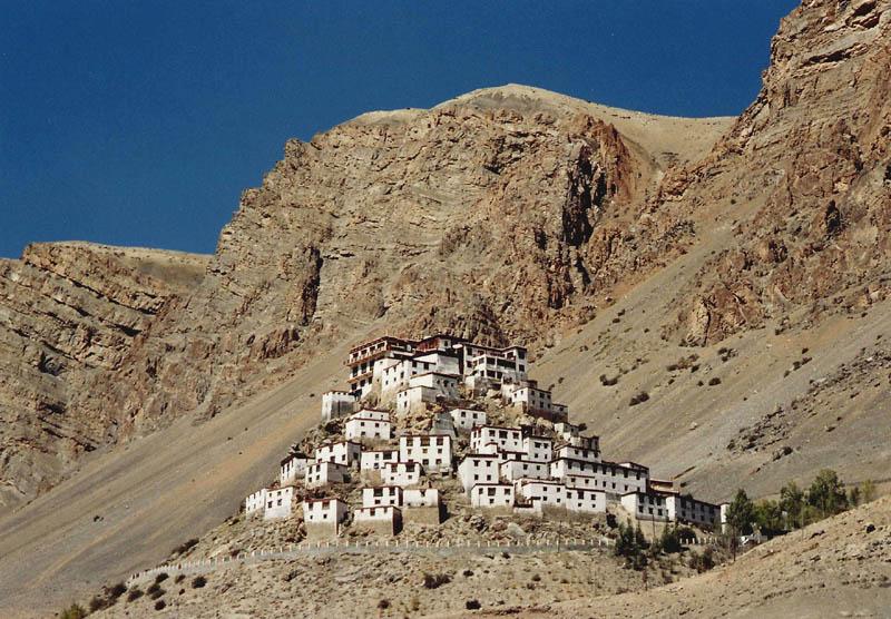 kye-monastery spiti at himachal pradesh