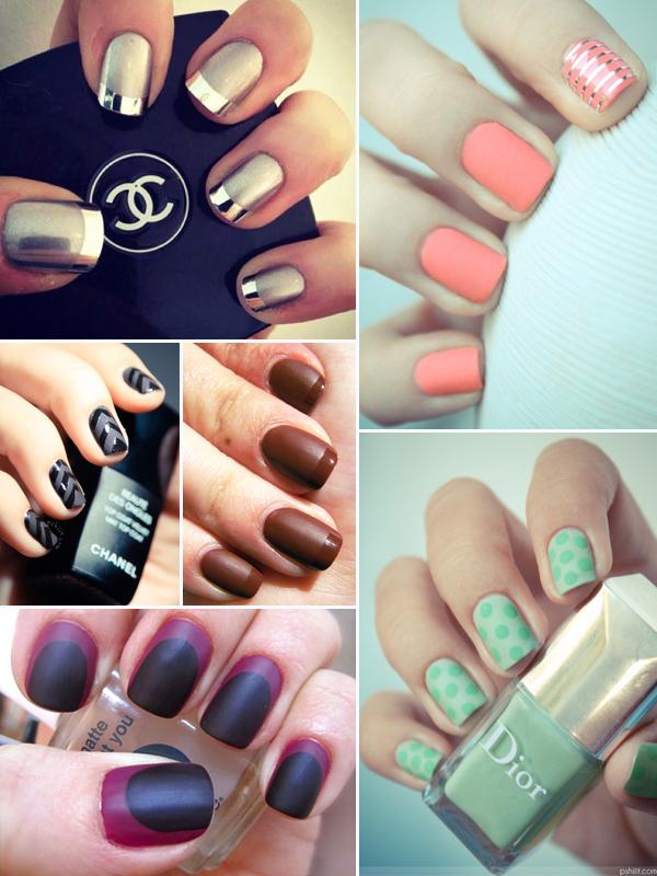 Matte nail shades