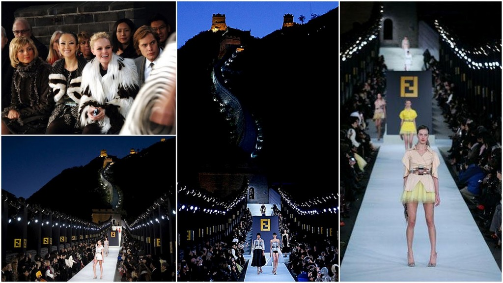 Fendi Fashion show in Great Wall - Beijing