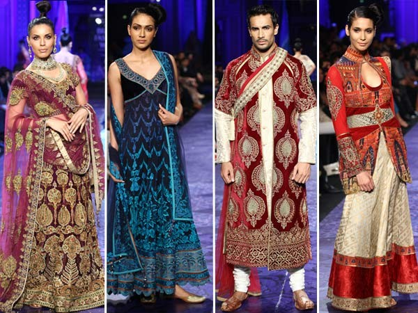 JJ Valaya bridal -groom collection 2013