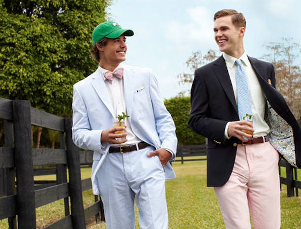 Bow tie - Derby attire with a pop of style