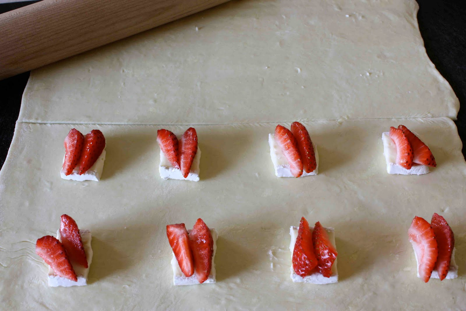 Brie Cheese & Strawberries