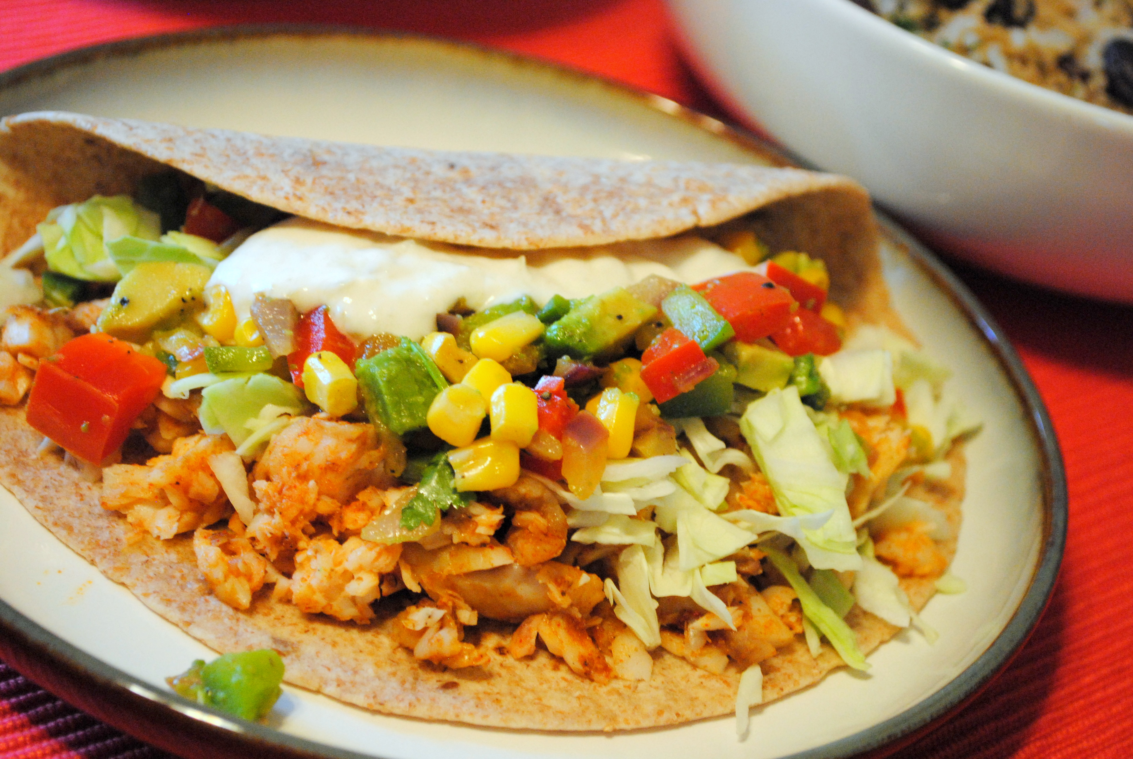 Home catering suddenly got a whole lot more professional for Fish taco salsa