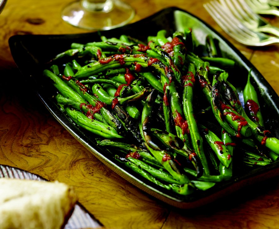 Pan Seared French Beans