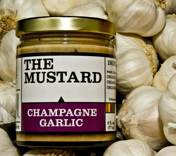 Poshed up Champagne Garlic Mustard