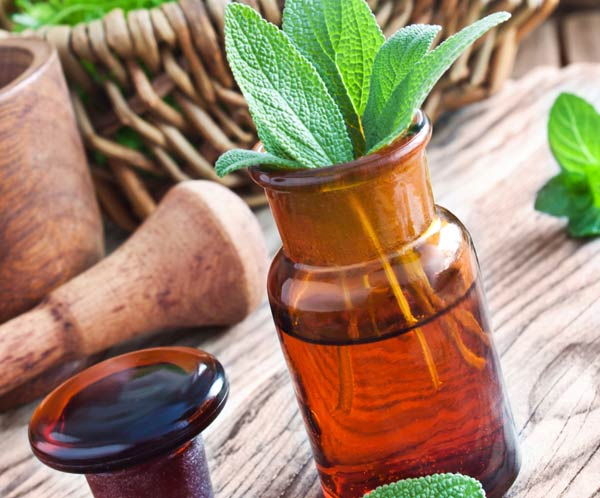 Sage Oil for treating hair loss and acne