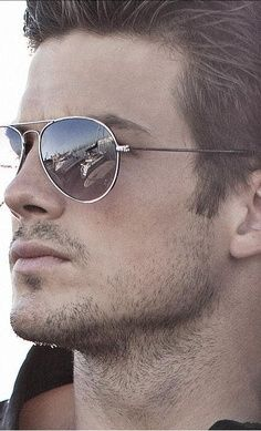 Classic pair of aviators never goes out of style.