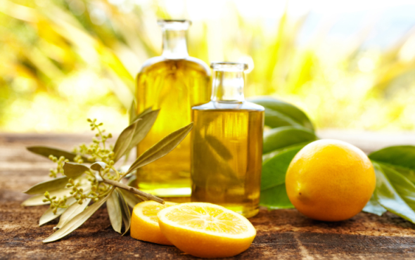 Lemon Oil for smooth texture